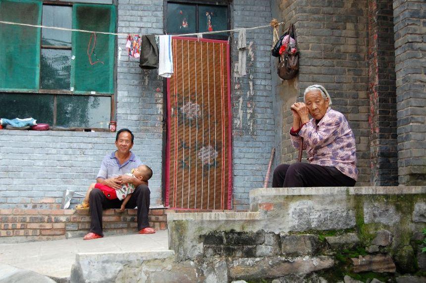 In einem Dorf in Shanxi