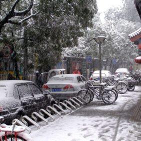 Schnee-Chaos