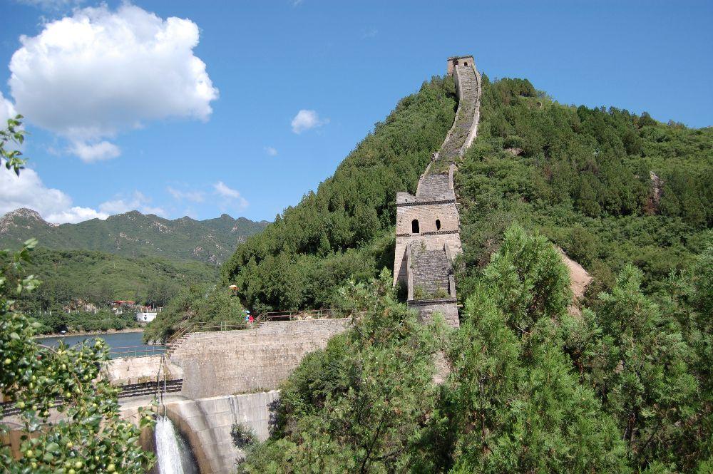 Die Große Mauer bei Huanghuacheng