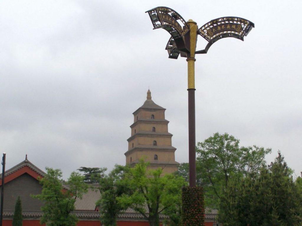 Große Wildganspagode 2011 - Xi'an nach Chengdu 1987