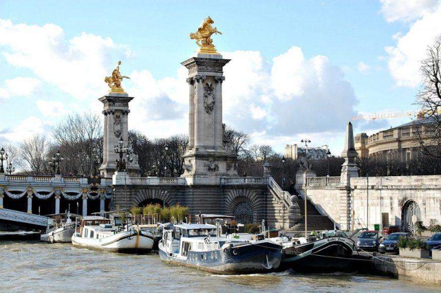 Brücke über die Seine
