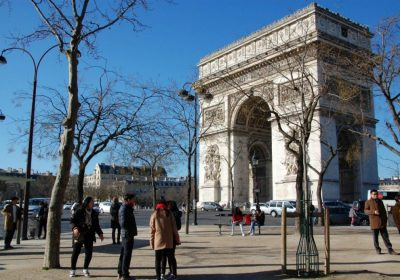 Endlich in Paris
