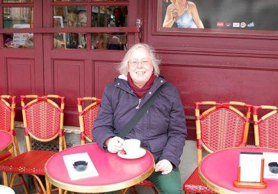 Ulrike in Montmartre