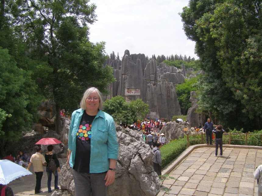 Ulrike unterwegs in China