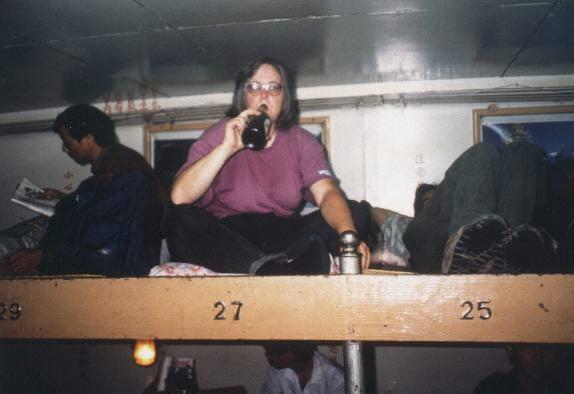 1991 Ulrike unterwegs