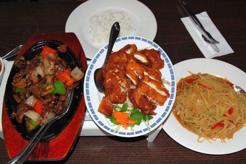 Unser Menue im Restaurant Der Chinese am Fleet