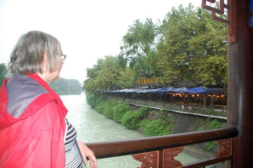 Ulrike in Reisebloggerpose