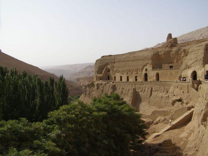 Bezeklik Buddha-Grotten bei Turfan