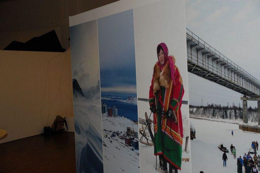 Eiszeiten: Am Eingang zur Ausstellung