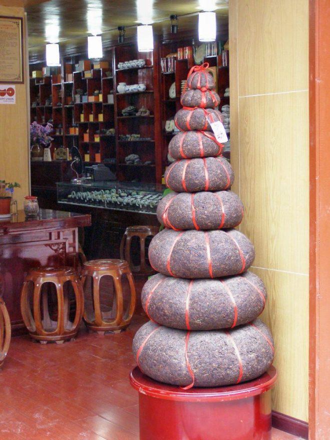 Tee geschäft in Lijiang