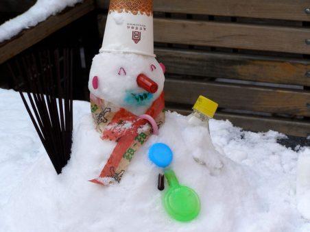 Schneemann in der Verbotenen Stadt - Weihnachten in China