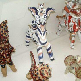 Tashkent - Museum für angewandte Kunst - Tonpfeifen