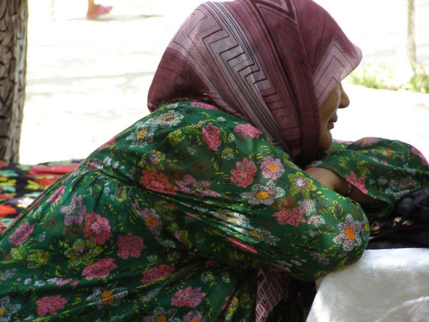 Usbekische Frau in Fergana