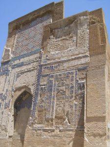 Shakri Sabz - Reste bunter Kacheln