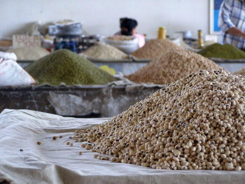 Samarkand Bazar Hülsenfrüchte