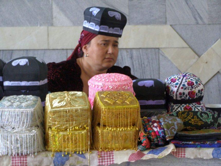 Samarkand Bazar Hüte