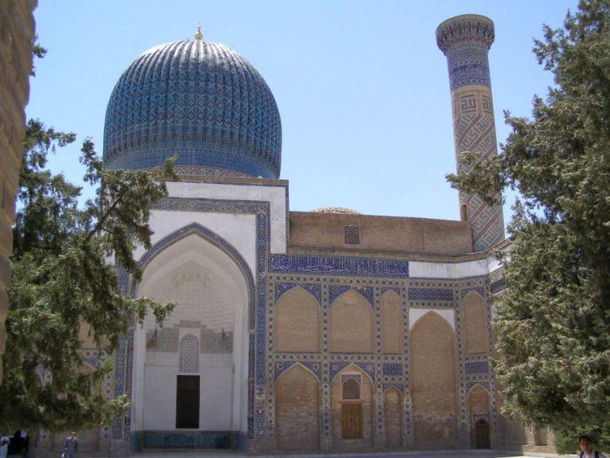 Samarkand Moschee Bibi Khanum