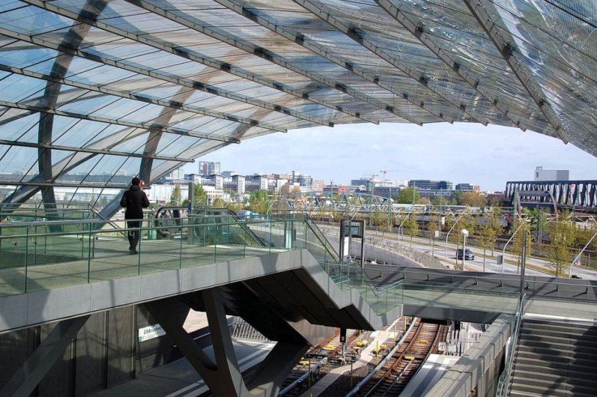 Die neue Station Elbbrücken