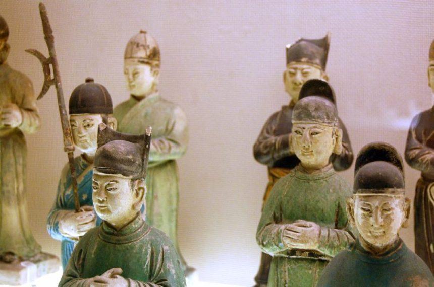 Sichuan Museum Han Keramik