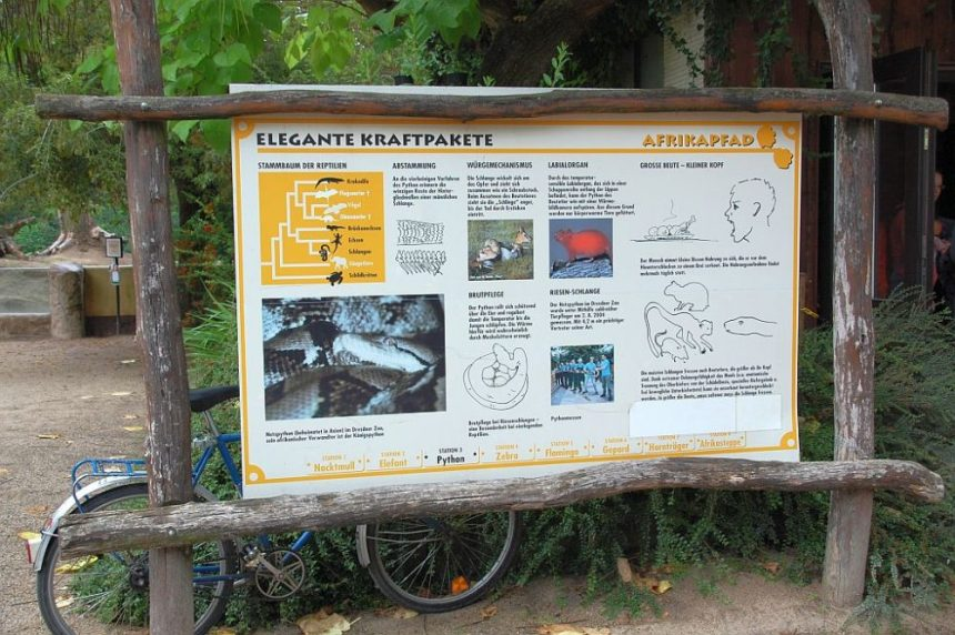Zoo Dresden Hinweise