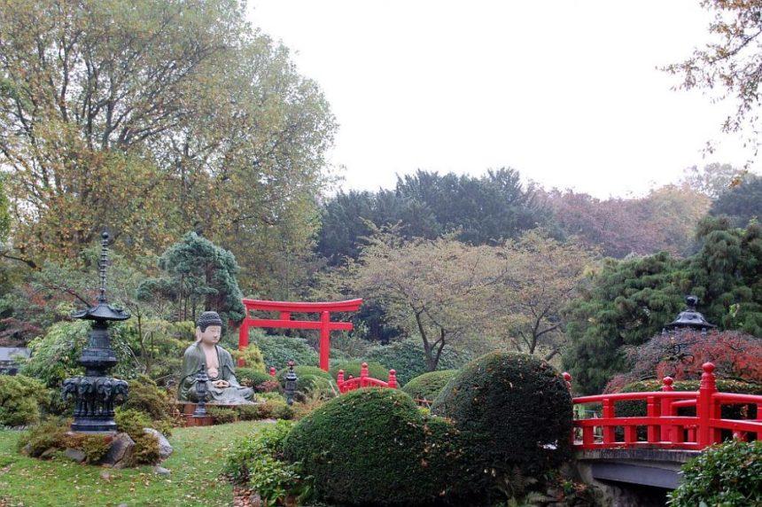 Der Japanische Garten im Tierpark Hagenbeck