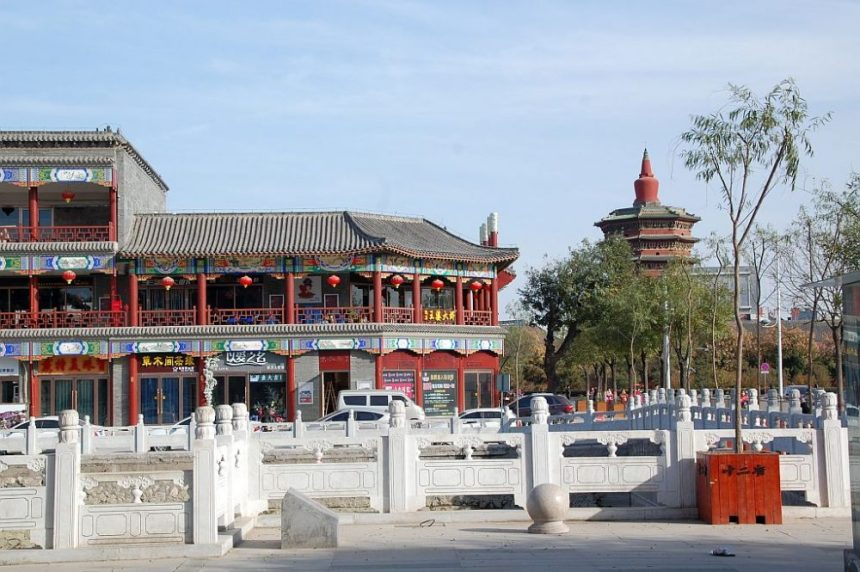 Anyang - Altstadt mit Wenfeng Pagode