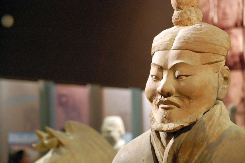 Shaanxi Provinzmuseum - Terrakottakrieger