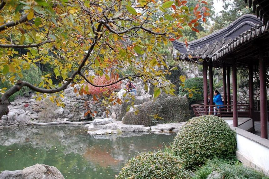 Chinesische Gartenkunst
