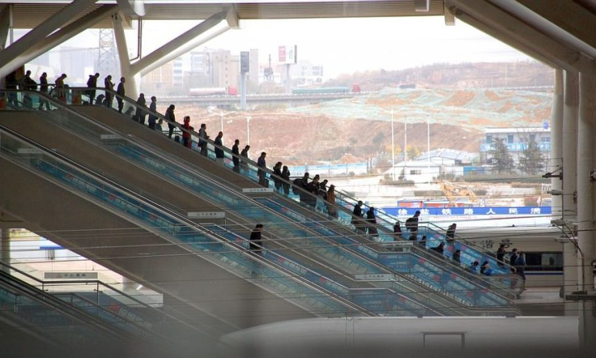 Xuzhou Bahnhof