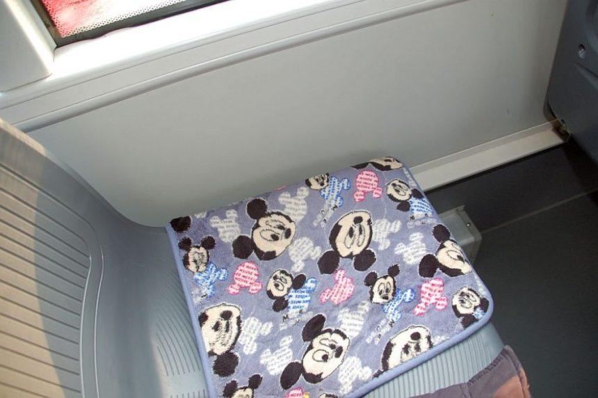 Sitzkissen mit Mickey Mouse