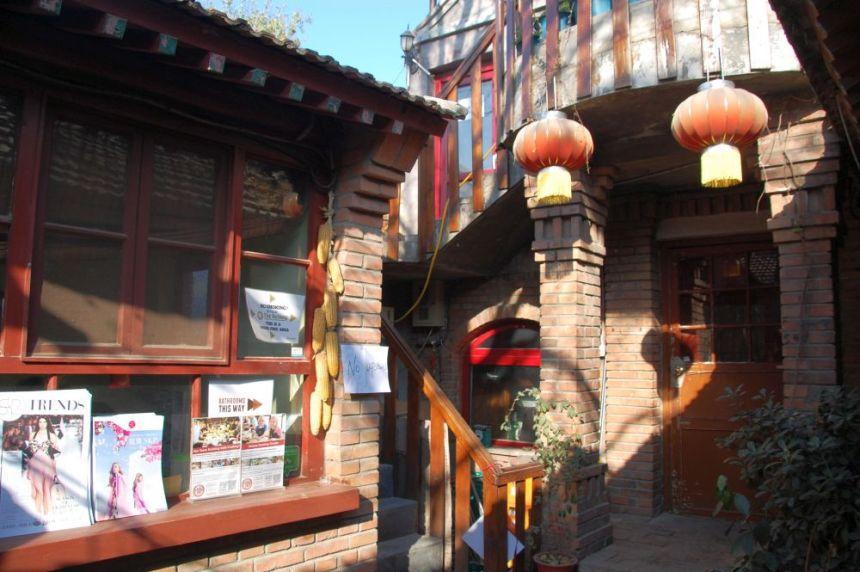 Innenhof des The Hutong