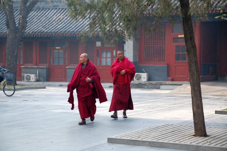 Lama-Tempel Yonghegong Mönche