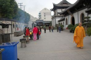 Zhenru Tempel Eingang