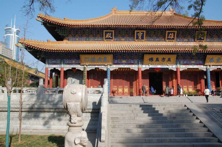 Daxingshan Tempel Xi'an