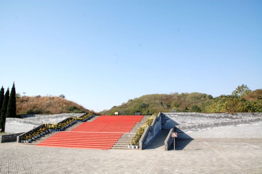 Han Yang Ling - der Grabhügel