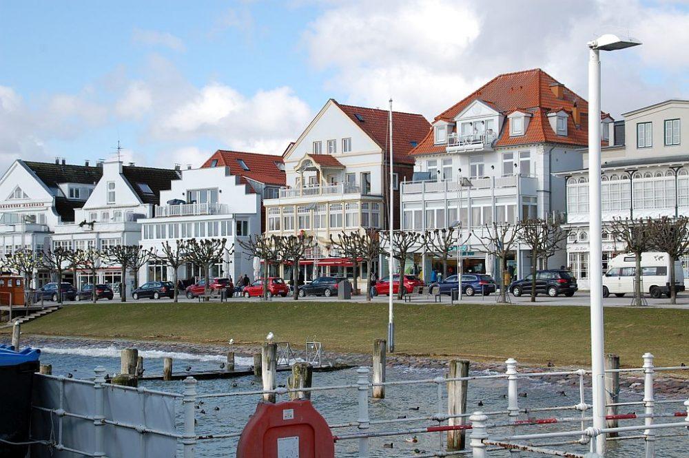 Travemünde, hübscher Badeort an der Ostsee.