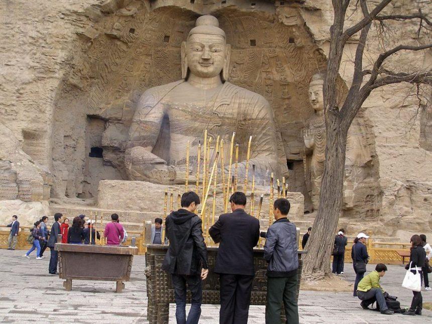 Tausend Buddha Höhlen von Yungang