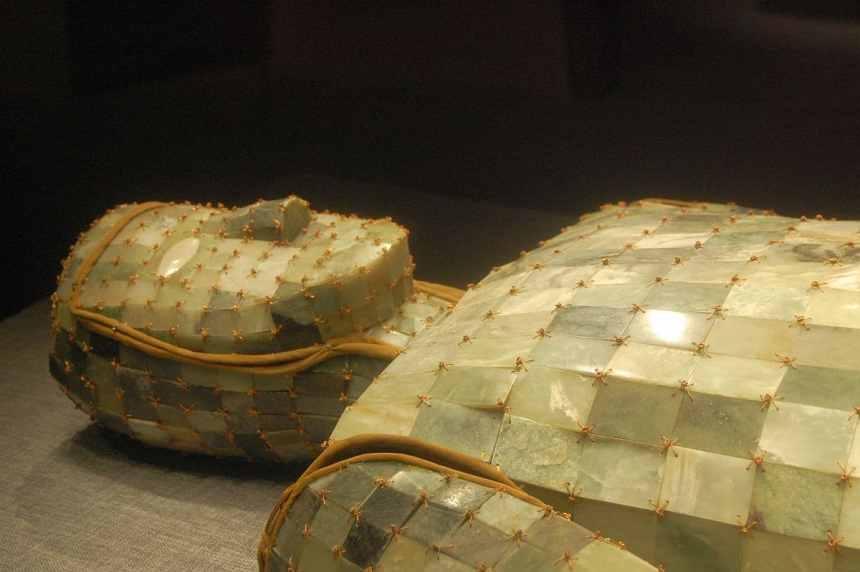 Jade Totenanzug im Nationalmuseum