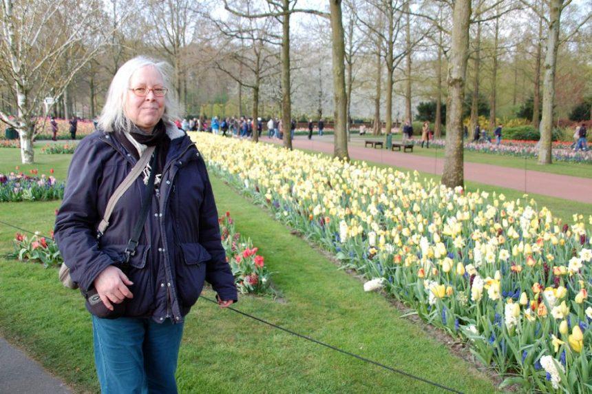 Ulrike und die Tulpen