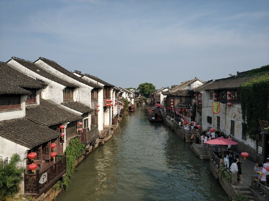 Suzhou Sehenswürdigkeiten Altstadt