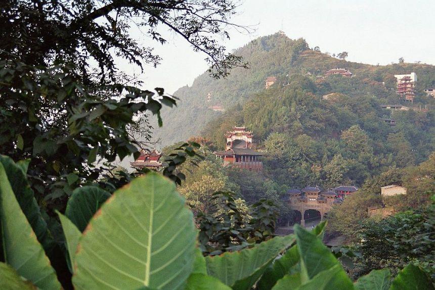 Fengdu am Yangtze