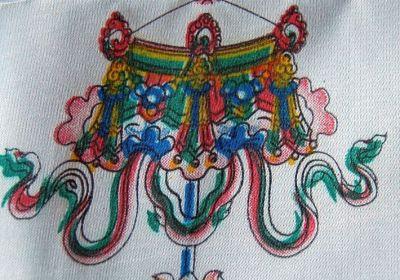 Die tibetischen Glückssymbole Schirm