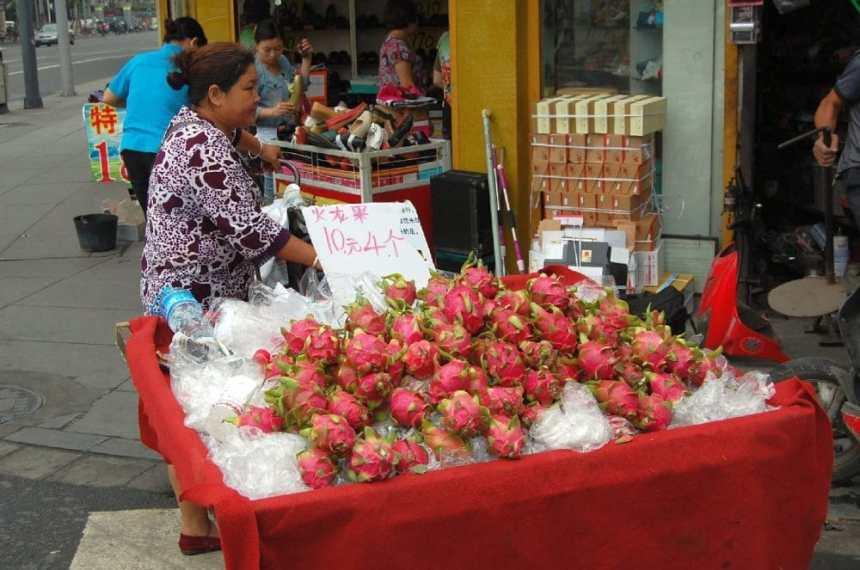 Drachenfrucht in Chengdu