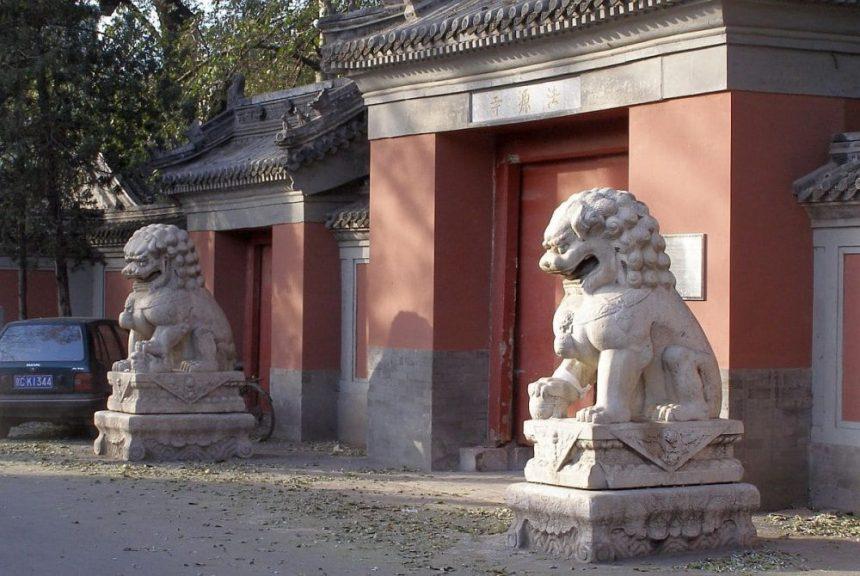Löwen in China