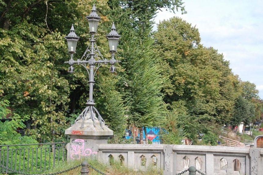 Brücke über den Eilbek Kanal