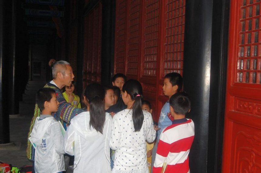 Im Konfuzius Tempel von Peking