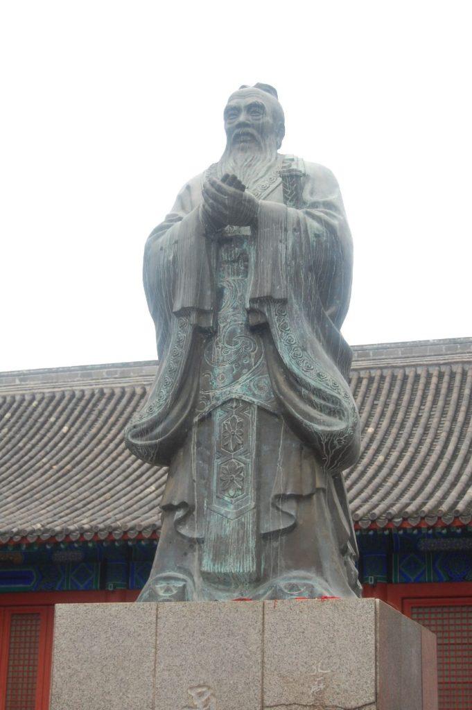Konfuzius in Peking
