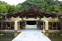 Hotel aus Bambusrohr