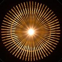 Lampe KAGUA aus Bambusrohr