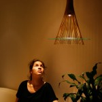 Bambus-Lampe KAGUA